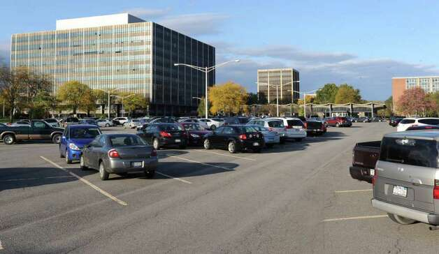 Office buildings on the Harriman Campus in Albany, N.Y. Monday Oct. 17, 2011. Lori Van Buren / Times Union) Photo: Lori Van Buren