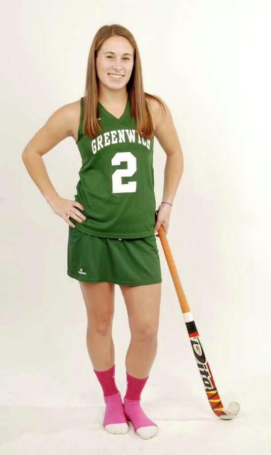 Studio shot of Dani DeGregory, of Greenwich High School, selected as the Times Union Girls's Field Hockey MVP for 2010, photographed in Albany, NY, on Sunday, Dec. 12, 2010.     (Luanne M. Ferris / Times Union ) Photo: Luanne M. Ferris / 00011338A