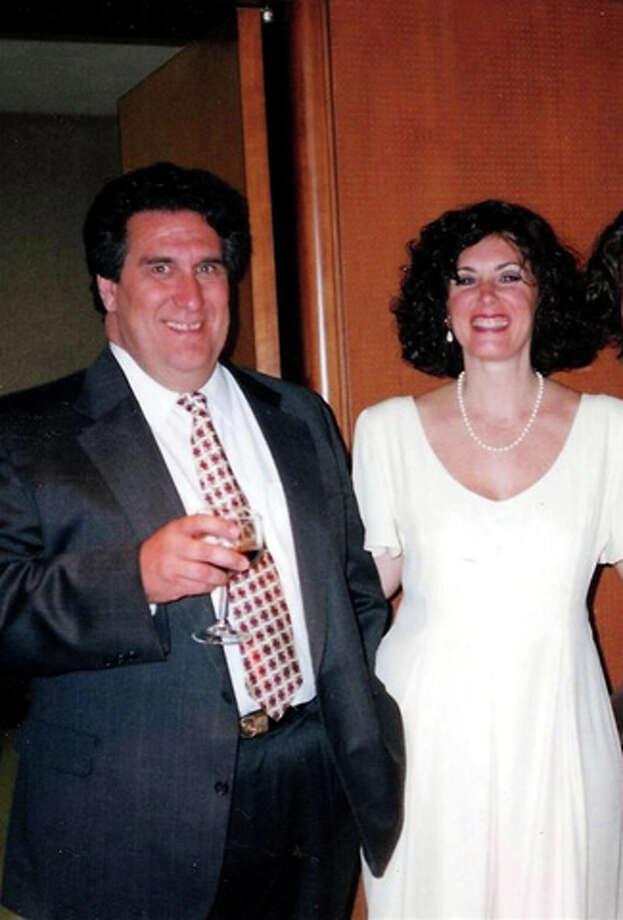 John Mongillo, Jr. with his wife, Marlene. Photo: Contributed Photo