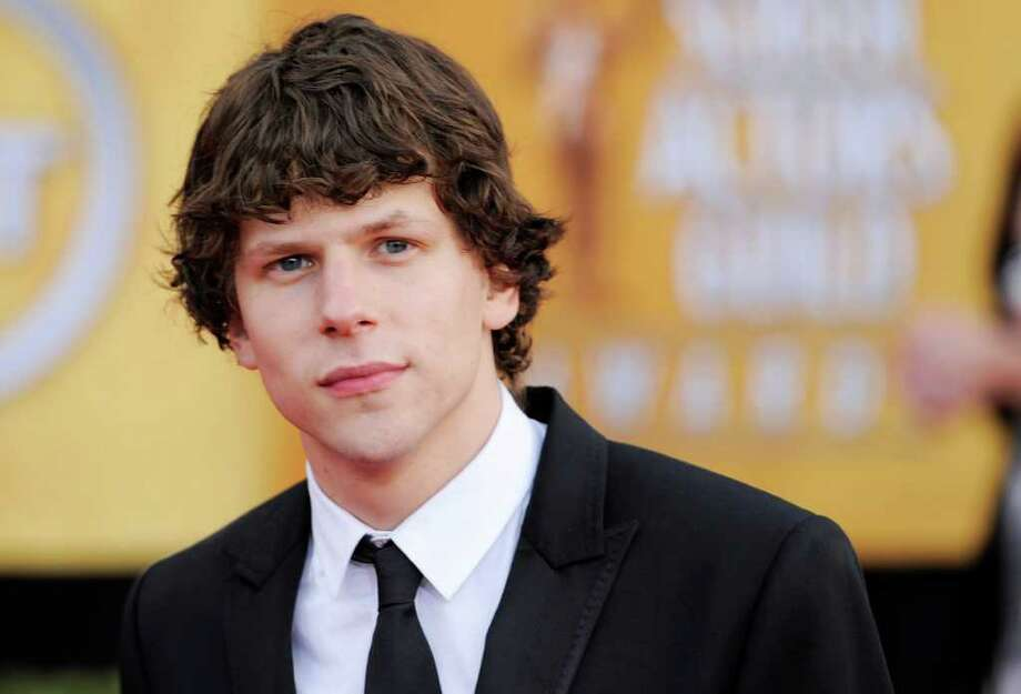 "Jesse Eisenberg from ""The Social Network"" arrives at the 17th Annual Screen Actors Guild Awards on Sunday, Jan. 30, 2011 in Los Angeles. (AP Photo/Chris Pizzello) Photo: Chris Pizzello / AP"
