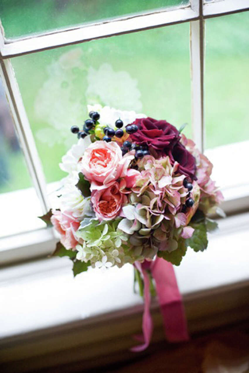 Using environmentally friendly, locally grown flowers is also a popular option for bouquets. HeavenScent Florist of Saratoga is an option for people interested. (Photo courtesy of HeavenScent Florist)