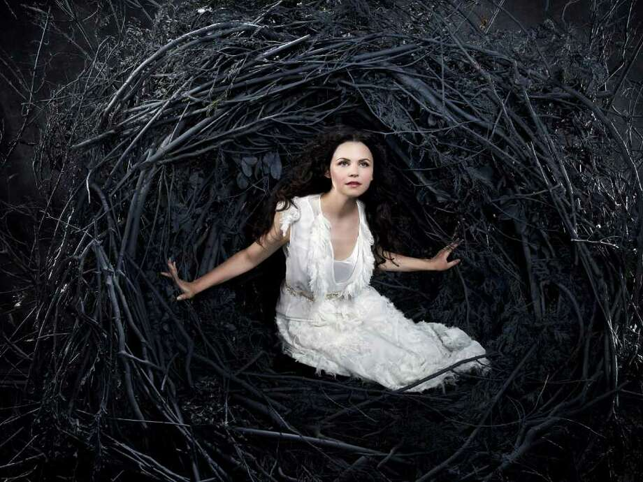 "ABC's ""Once Upon a Time"" stars Ginnifer Goodwin as Snow White/Mary Margaret. ABC Photo: Kharen Hill, ABC / © 2011 American Broadcasting Companies, Inc. All rights reserved."
