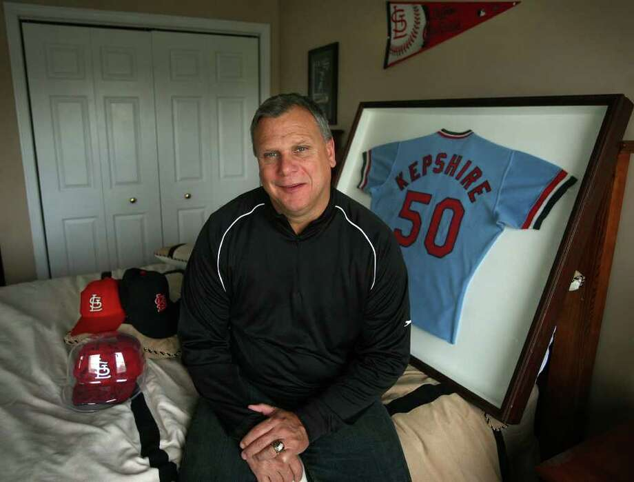 Former major leaguer Kurt Kepshire of Oxford pitched for the St. Louis Cardinals in the 1985 World Series. Originally from Bridgeport, Kepshire played for and graduated from Central High School. Photo: Brian A. Pounds / Connecticut Post