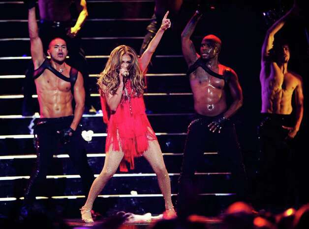 LAS VEGAS, NV - SEPTEMBER 24:  Singer Jennifer Lopez performs onstage at the iHeartRadio Music Festival held at the MGM Grand Garden Arena on September 24, 2011 in Las Vegas, Nevada.  (Photo by Ethan Miller/Getty Images for Clear Channel) Photo: Ethan Miller, Getty Images / 2011 Getty Images
