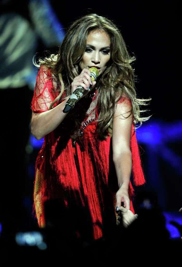 LAS VEGAS, NV   SEPTEMBER 24: Singer/actress Jennifer Lopez Performs At The