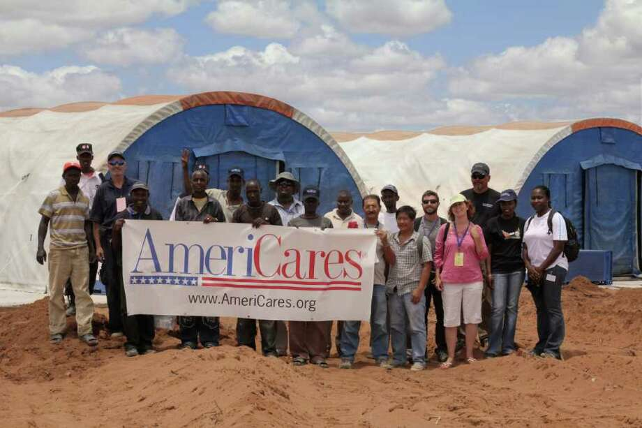 The AmeriCares field hospital in Kenya. Photo courtesy of Chris Mosio. Photo: Contributed Photo