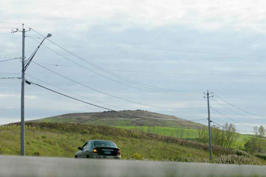 A view of the Colonie Landfill on Route 9 on Oct. 18, 2011 in Colonie.  (Paul Buckowski / Times Union) Photo: Paul Buckowski / 00015031A