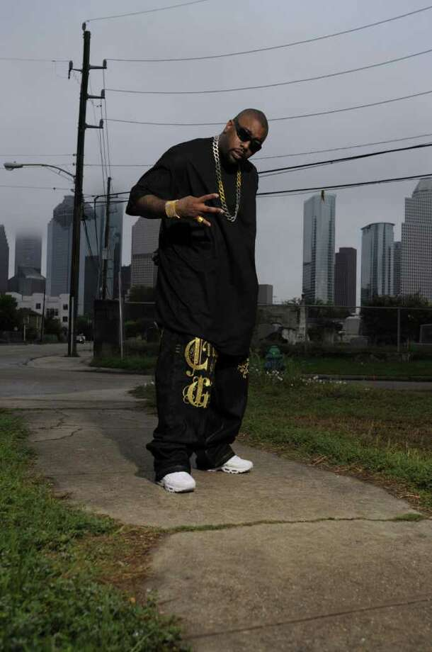 """Houston rapper and """"street king"""" Trae tha Truth"""" calls himself the """"voice of Houston."""" He's also helped motivate at-risk youths and fed Houston's homeless. The artist was shot June 20 after he performed at a club in southwest Houston, in what police say was a gang violence incident. Photo: Young Empire Records"""