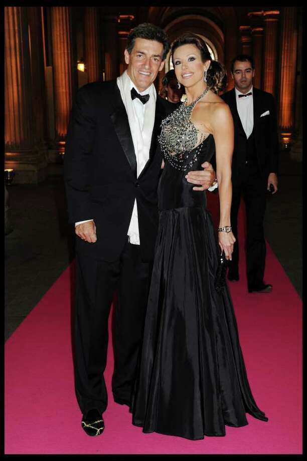 Nick Florescu and Dominique Sachse at the 'Liaisons Au Louvre II' Charity Gala Dinner at Musee du Louvre on Tuesday, June 14, 2011 in Paris. Photo: Lydie LeCarpentier Thomas / For the Chronicle