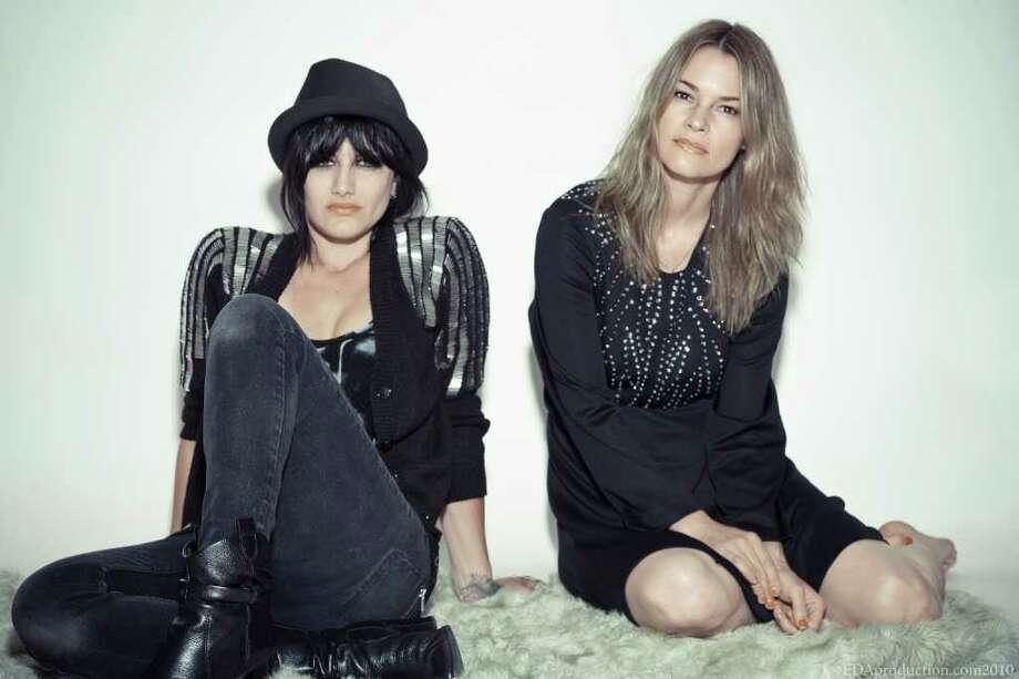 Leisha Hailey, right, and Camila Grey are Uh Huh Her. Photo: Nettwerk