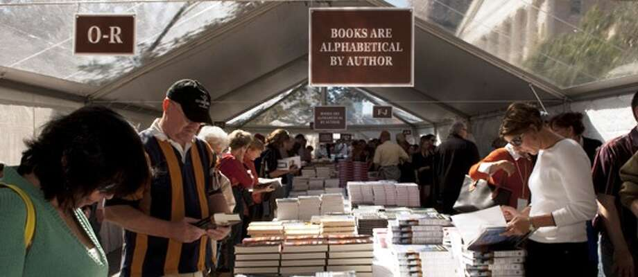 The Texas Book Festival, planned for Oct. 31 through Nov. 15, will take place entirely online this year. Photo: Courtesy Texas Book Festival