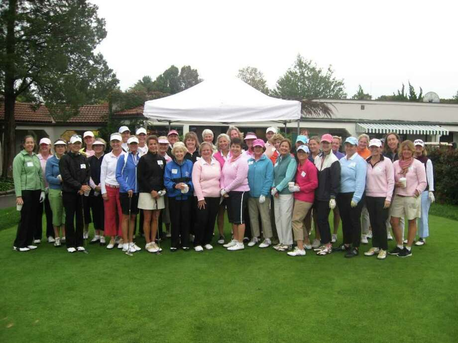 Attendees at Play for Pink at Wee Burn Country Club. Photo: Contributed Photo