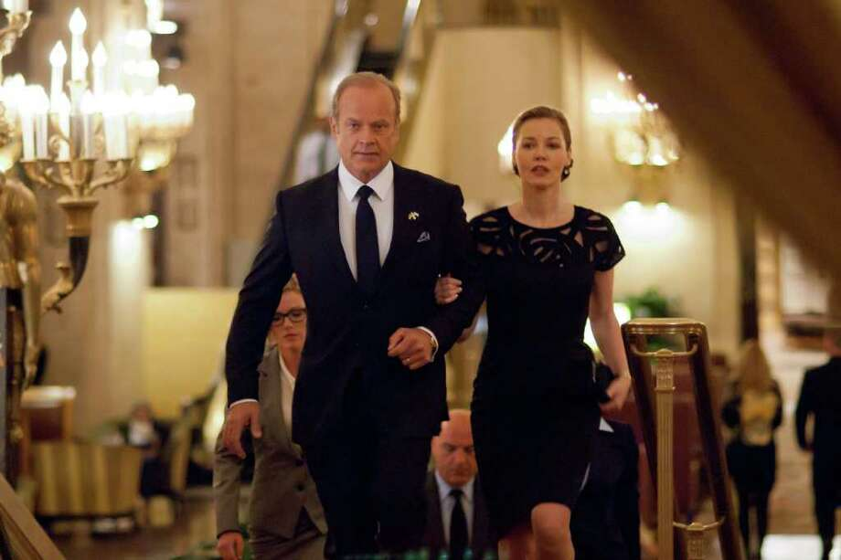 LIONSGATE TELEVISION  IN CONTROL: Mayor Tom Kane (Kelsey Grammer) and his wife, Meredith (Connie Nielsen), are political powerbrokers in Boss. Photo: Lions Gate Television / © MMXI Lions Gate Television Inc. All Rights Reserved   (photo credit: Matt Dinerstein -Lions Gate TV)
