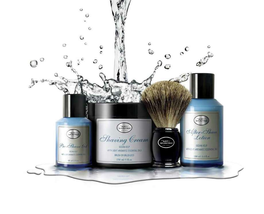 Art of Shaving has launched a new line of shaving products called Ocean Kelp with Light Aromatic Essential Oils. The four shaving products follow Art of Shaving's 4 Elements of a Perfect Shave recommendations. Photo: Art Of Shaving