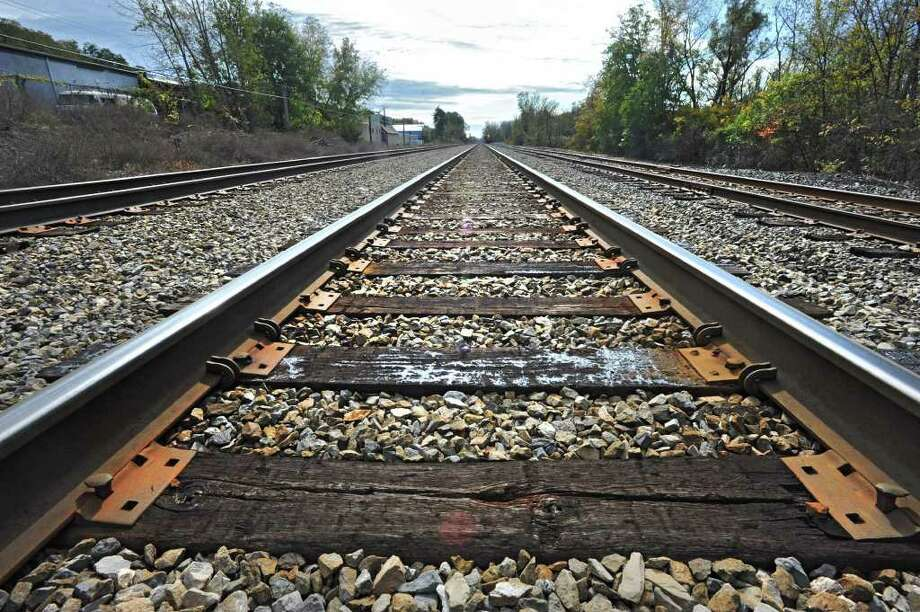 Train tracks in Castleton, N.Y. Tuesday, Oct. 18, 2011. (Lori Van Buren / Times Union) Photo: Lori Van Buren