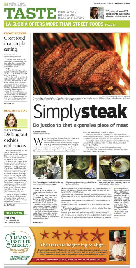 """""""If you are a foodie, this is the section you want to find in your newspaper each,"""" judges said of the sections that won first-place in their circulation category in the Association of Food Journalists competition.Read more: E-N Taste section named tops in nation"""
