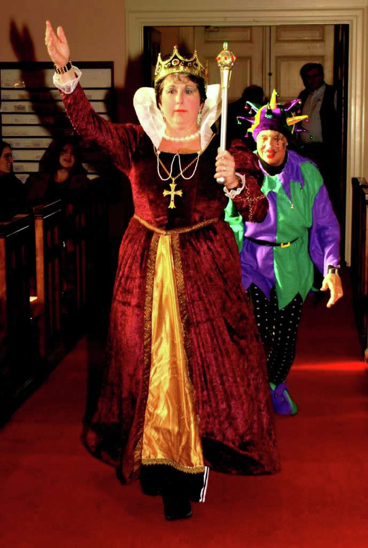 """Queen Elizabeth 1 and a court jester were hits of the 2010 """"Pipescreams,"""" which this year takes place on Saturday, Oct. 29."""