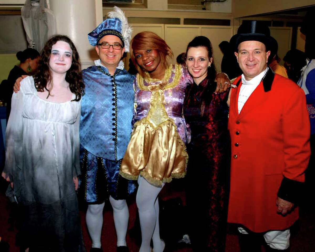 """""""Pipescreams,"""" a concert and Halloween spectacular, takes place Saturday, Oct. 29, in Bridgeport. Shown are a few of the participants who dressed for the event last year."""