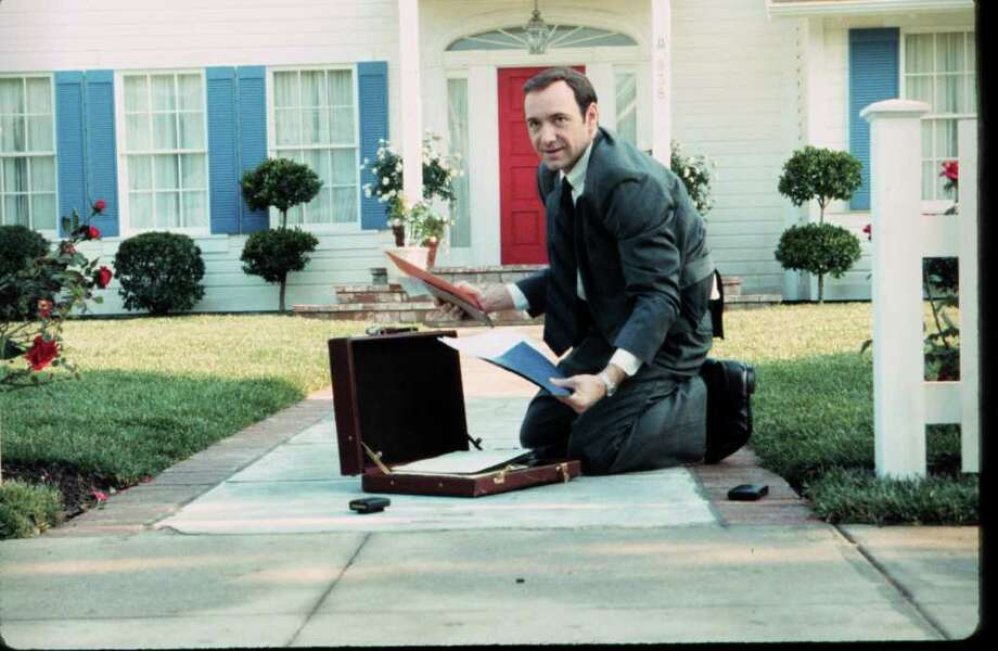 AMERICAN BEAUTY - Kevin Spacey. Photo: Lorey Sebastian / handout