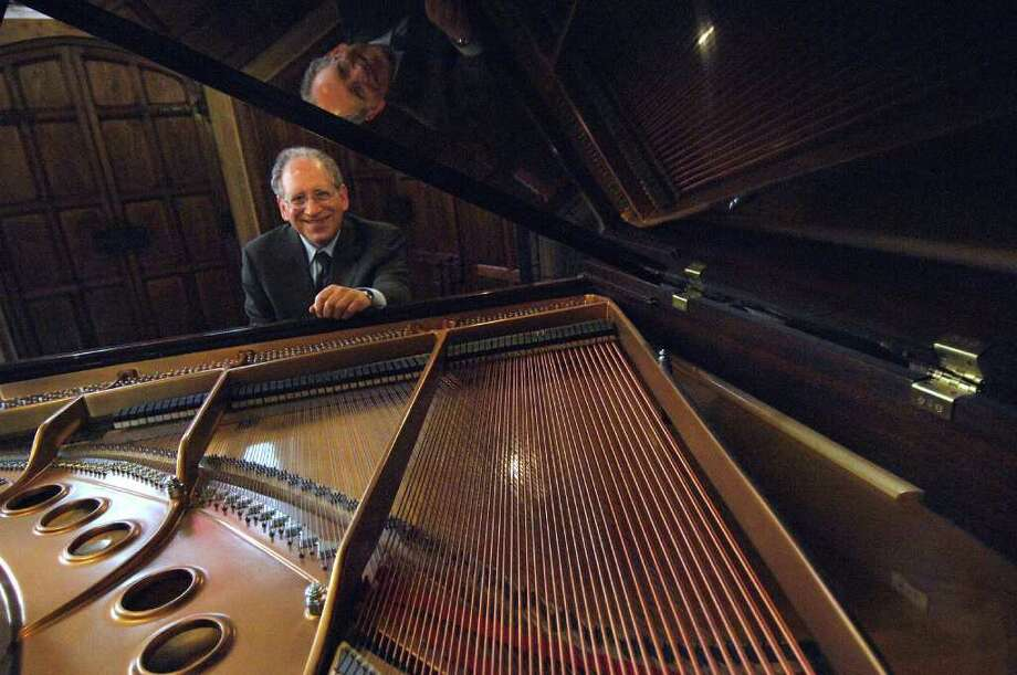 Pianist Orin Grossman, professor of visual and performing arts at Fairfield University, will debut his musical group, Quartetto Cornetto, Friday, Oct. 28, at the Quick Center. Photo: Contributed Photo