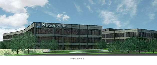 Nationwide Insurance is building a 300,000-square-foot campus off Texas 151 that will be the nation's first commercial building under the new Fortified for Safer Business program. It's a program of the Insurance Institute for Business & Home Safety that improves building construction methods to fortify against threats such as hail, flood, fire and hurricanes. The building will be complete in spring 2012. Photo: COURTESY PHOTO