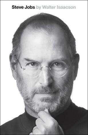 "This book cover image released by Simon & Schuster shows ""Steve Jobs,"" by Walter Isaacson.  (AP Photo/Simon & Schuster) Photo: Anonymous / AP2011"