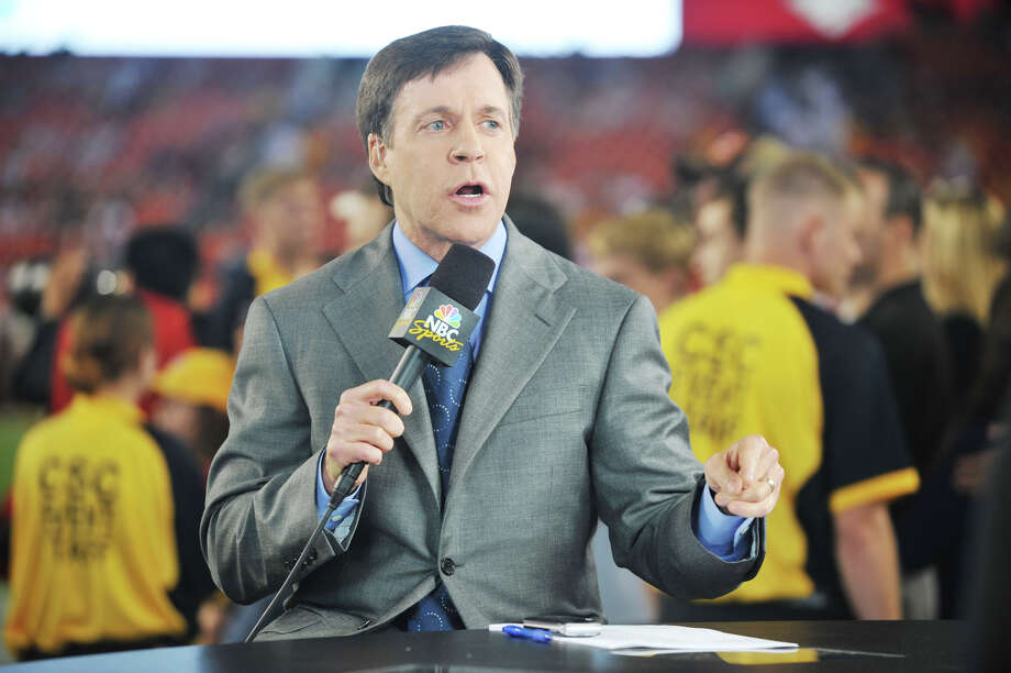 Bob Costas, of NBC Sports, a New Milford resident. / 2010 Getty Images