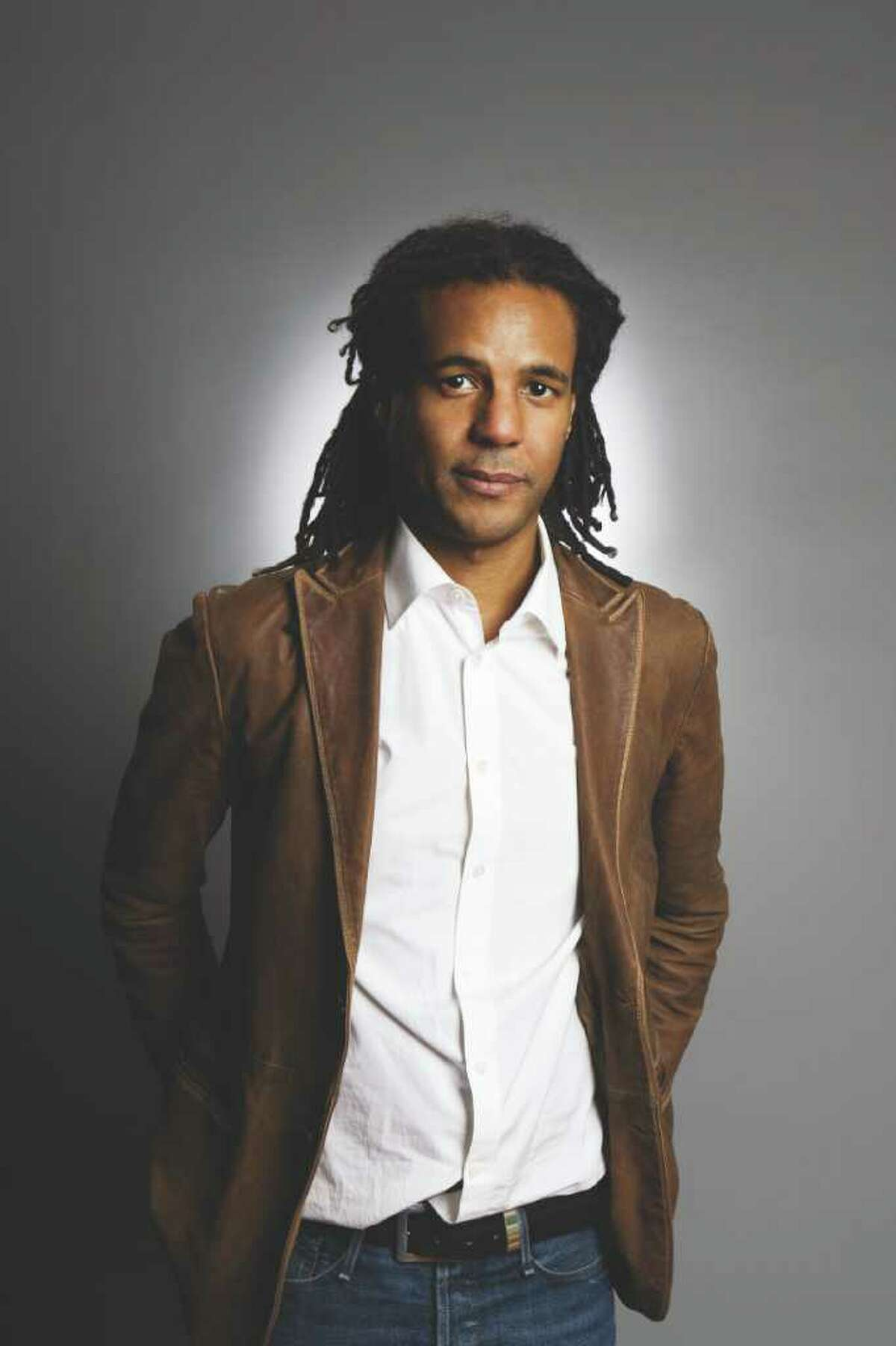 Image of author Colson Whitehead, who wrote Sag Harbor and the Oct. 2011 release, Zone One.