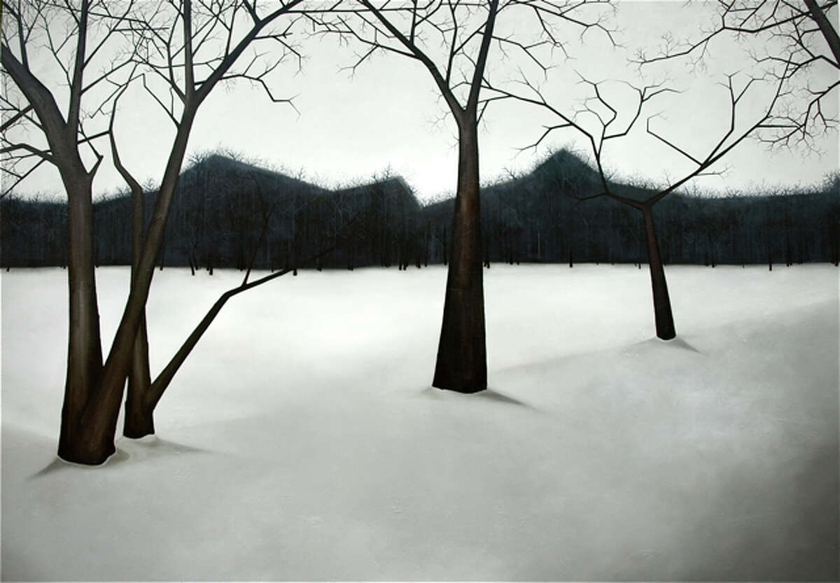 """""""Bare,"""" by San Antonio and Austin artist Sara Frantz, is part of the """"New Landscapes"""" exhibit at the David Shelton gallery."""