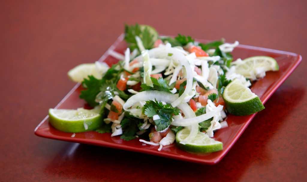 Chefs' Secrets: Rosario's Cabbage Lime Slaw - San Antonio ...
