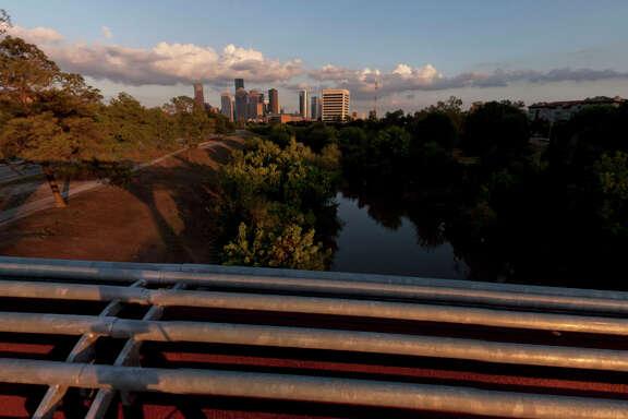 Scenes along Buffalo Bayou