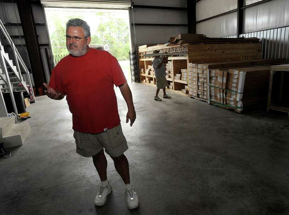 WIth help from a credit union loan, Billy Blanchard said he was able to expand his mobile home parts and sales business in Vidor. Blanchard added that he found the loan process less complicated and quicker than going through a commercial bank. Guiseppe Barranco/The Enterprise Photo: Guiseppe Barranco