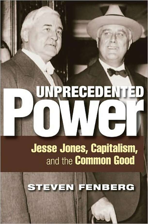 CHRONICLE FILE ECONOMIC LEADERSHIP: President Franklin D. Roosevelt named Houston businessman Jesse Jones to head the Reconstruction Finance Corporation during the Great Depression. Photo: Xx