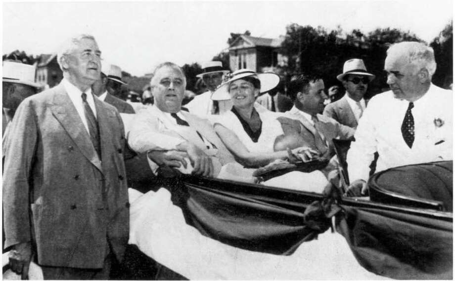 1936: Franklin D. Roosevelt, Democrat, winner / handout