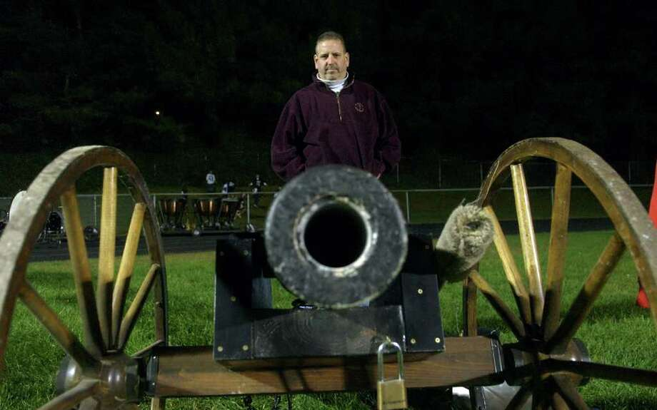 Highlights from boys football action between Trumbull and Staples in Trumbull, Conn. on Friday October 21, 2011. Photo: Christian Abraham / Connecticut Post