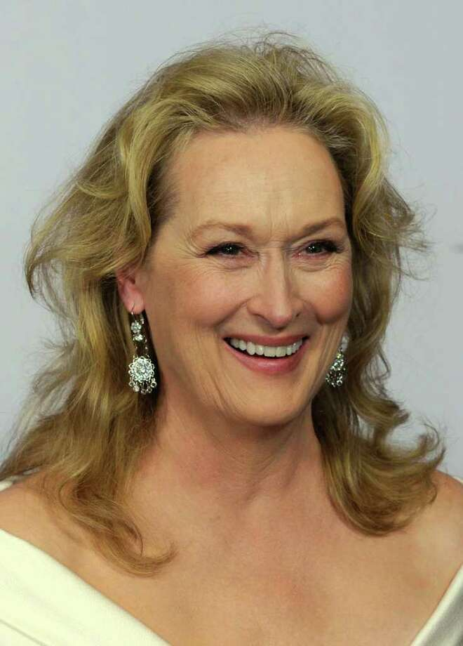 "Actress Meryl Streep attends the 38th AFI Life Achievement Award  June 10, 2010 in Culver City, California. Streep, who is in town filming ""Great Hope Springs"" with actors Tommy Lee Jones and Steve Carell, was seen having lunch at Beach House in Old Greenwich Friday afternoon. (Photo by Frazer Harrison/Getty Images for AFI) Photo: Frazer Harrison, Getty Images For AFI / 2010 Getty Images"