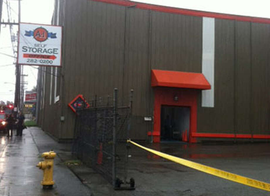 Police were investigating a homicide at A-1 Self Storage in Interbay on Saturday.