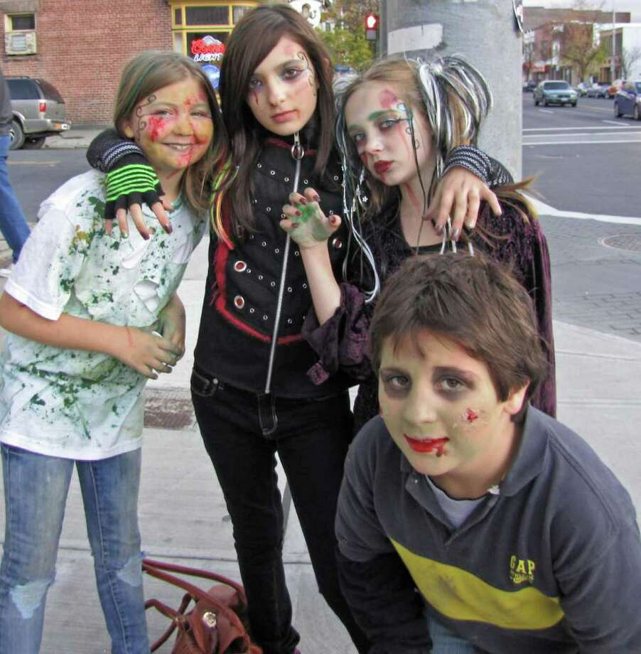 Zombie Walk Photo: Phoebe Sheehan