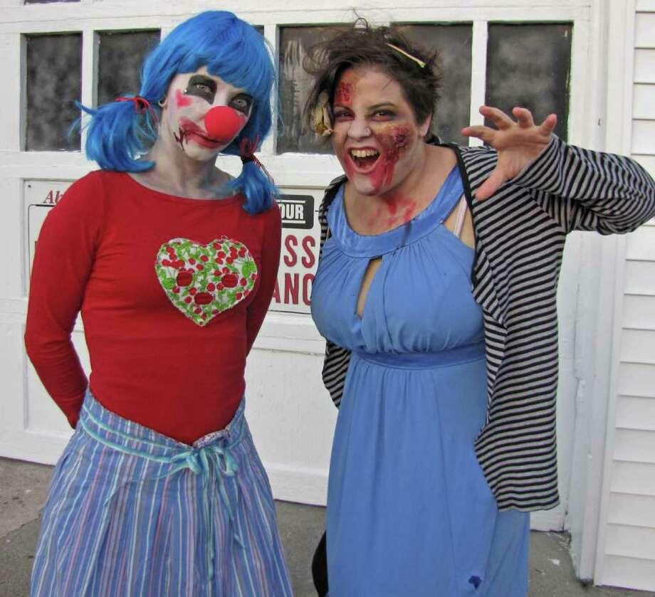 Zombie Walk Photo: Phoebe Sheehan