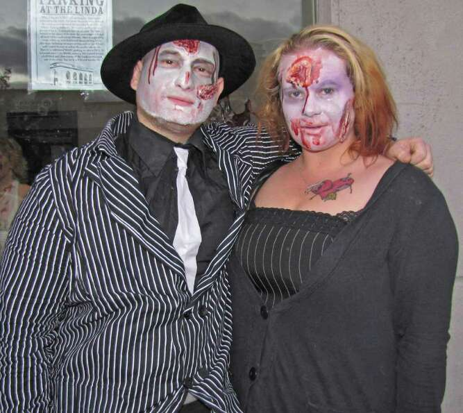Were you Seen at the 4th Annual Zombie Walk at The Linda in Albany on Saturday, Oct. 22, 2011?