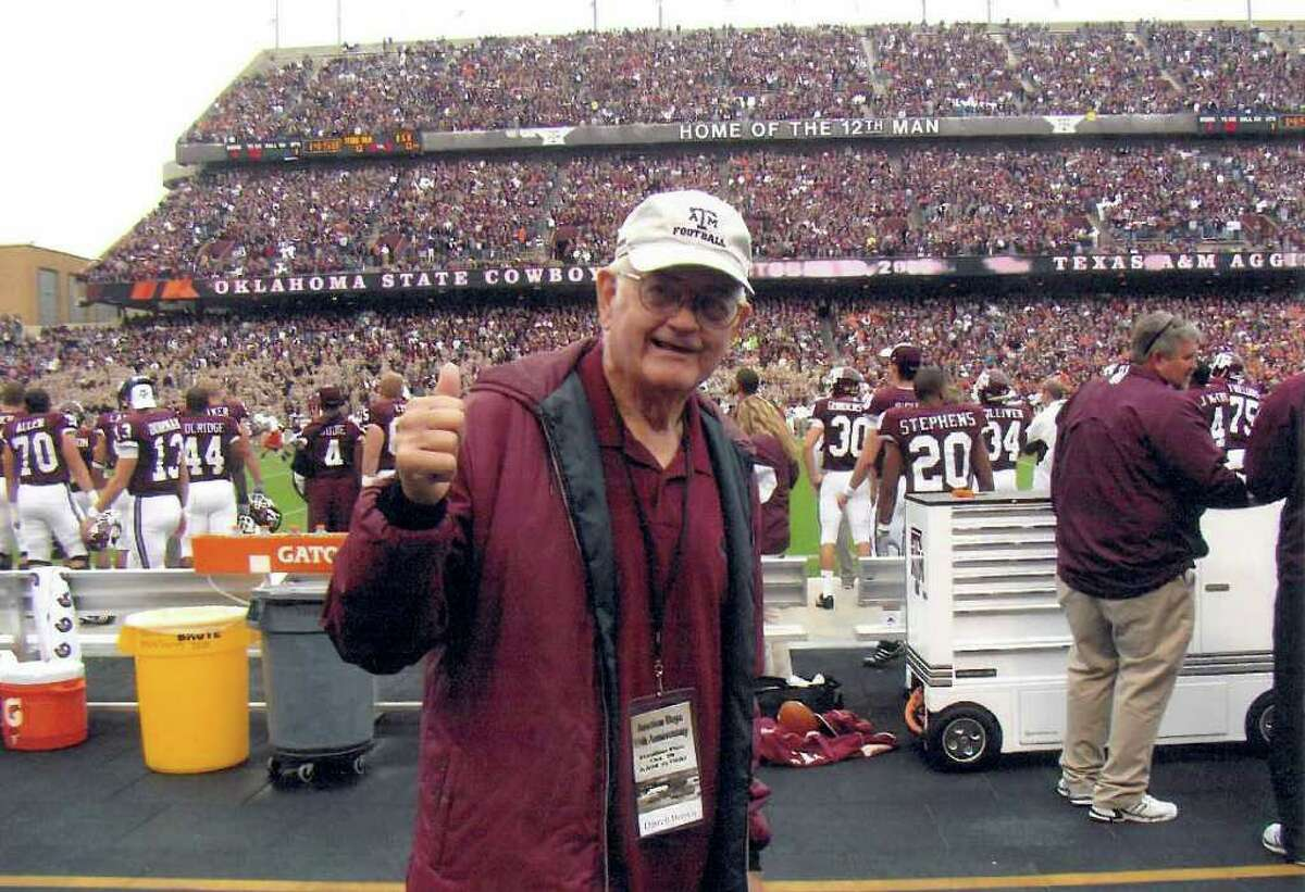 Darrell Brown, 76, participated in the grueling 1954 training camp led by then-A&M coach Paul