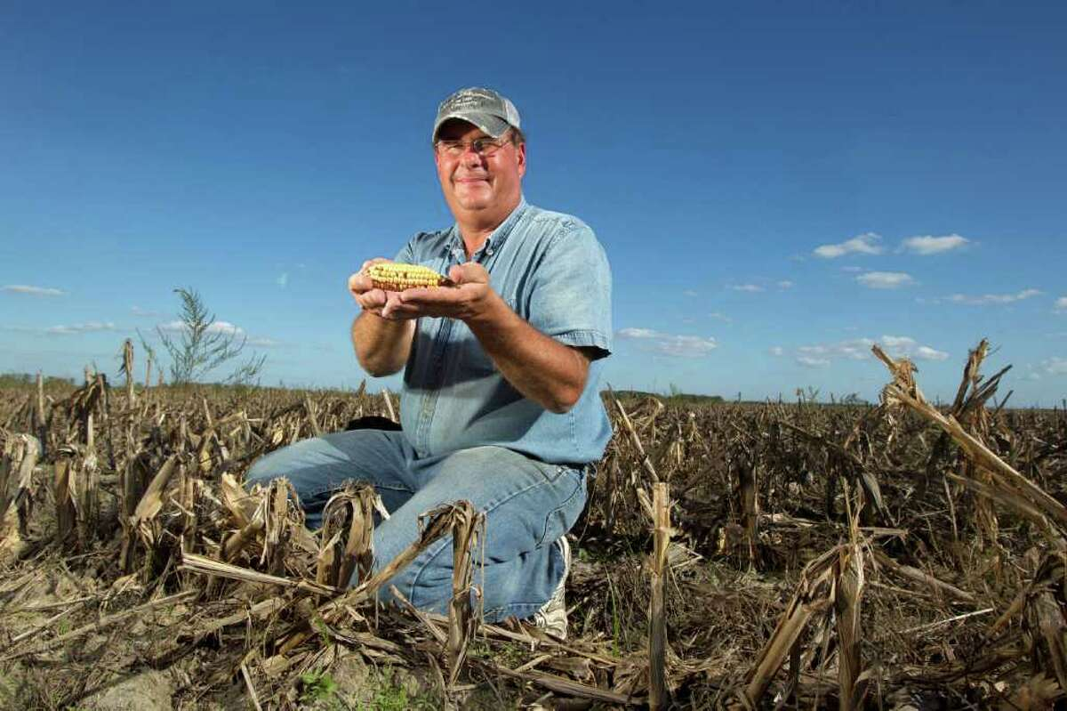 Fort Bend County farmer Alan Stasney got relief from the federal crop insurance program.