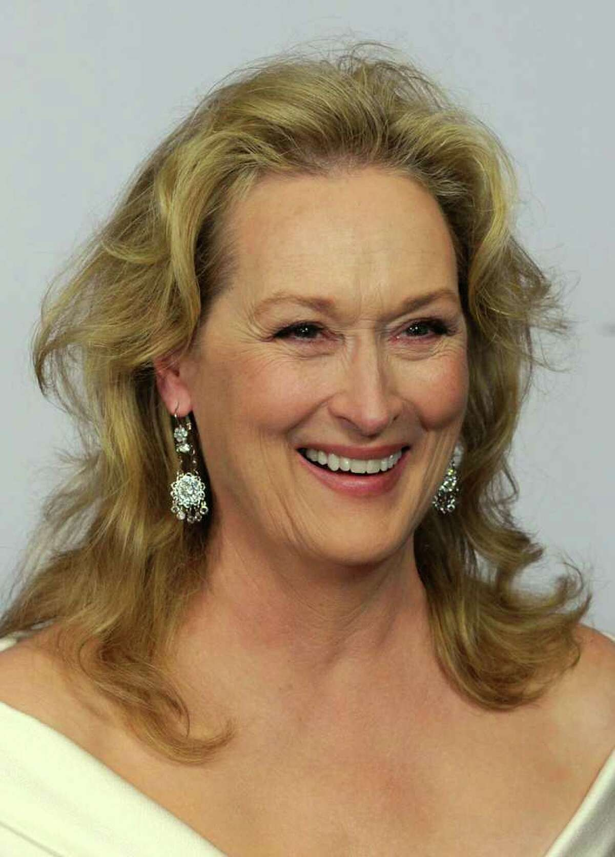 """Actress Meryl Streep attends the 38th AFI Life Achievement Award June 10, 2010 in Culver City, California. Streep, who is in town filming """"Great Hope Springs"""" with actors Tommy Lee Jones and Steve Carell, was seen having lunch at Beach House in Old Greenwich Friday afternoon. (Photo by Frazer Harrison/Getty Images for AFI)"""