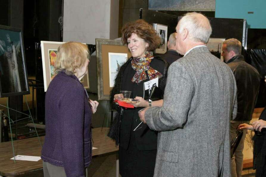 Were you seen at Art for AIDS Sake, a silent auction to benefit the Albany Damien Center on Saturday