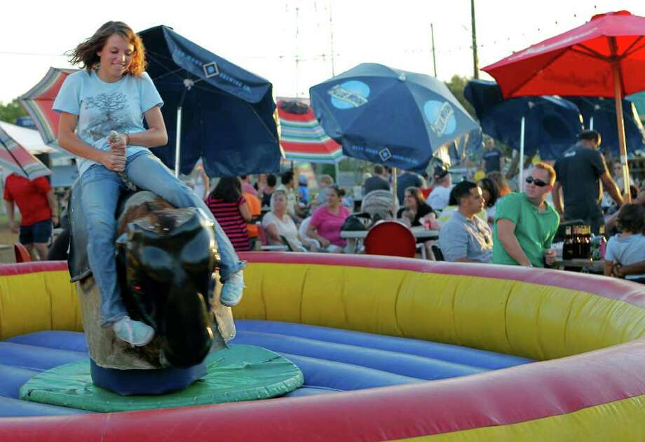 Boardwalk on Bulverde,14732 Bulverde Road, 210-402-2829, is an outdoor park that is surrounded by mobile food trucks. Every member of the family can eat something different (there are many choices) and kids can play on the playscape. Photo: MICHAEL MILLER, Express-News / mmiller@express-news.net