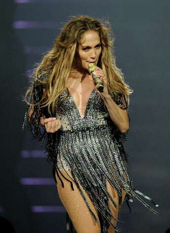Jennifer Lopez performs at Mohegan Sun during its 15th anniversary celebration in Uncasville, Conn., on Saturday, Oct. 22, 2011. Photo: Fred Beckham