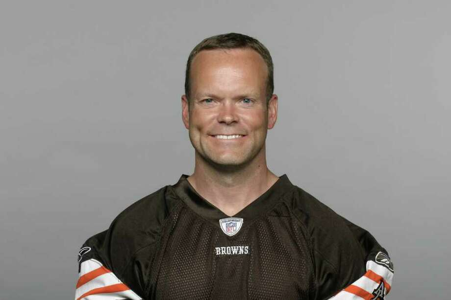 This is a photo of Phil Dawson of the Cleveland Browns NFL football team. This image reflects the Cleveland Browns active roster as of Tuesday, Aug. 9, 2011. (AP Photo) Photo: Anonymous