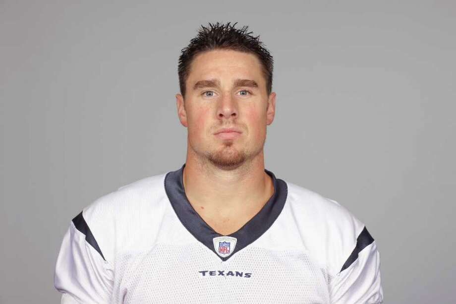 This is a 2011 photo of Joel Dreessen of the Houston Texans NFL football team. This image reflects the Houston Texans active roster as of Wednesday, Aug. 17, 2011 when this image was taken. (AP Photo) Photo: Anonymous