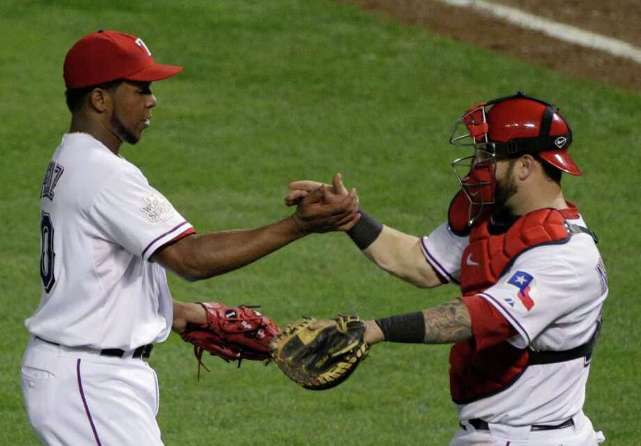 Game 4: Rangers 4, Cardinals 0 