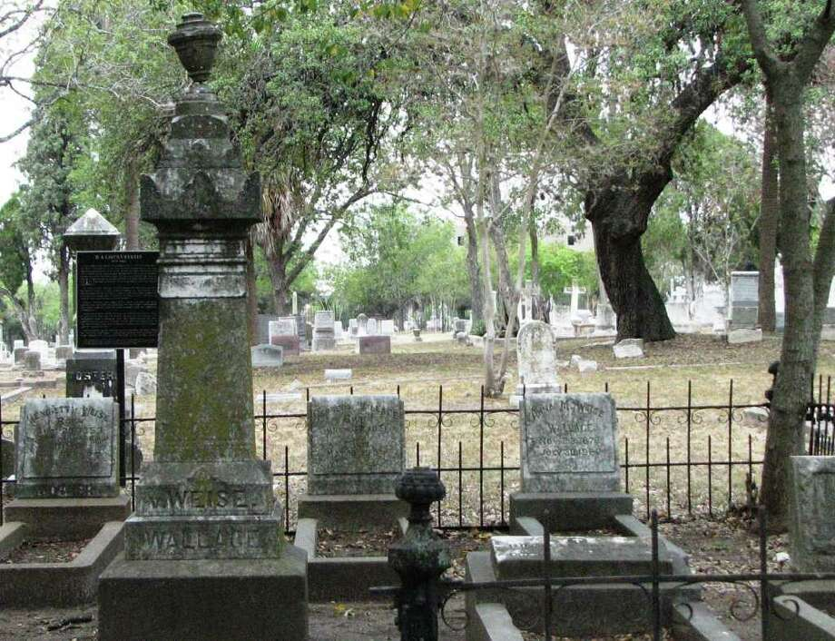The city's office of historic preservation is hosting a guided tour of the Eastside's cemetery district. The event will feature re-enactors dressed up as famous San Antonians. Photo: Courtesy Photo